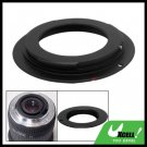 Black Aluminum M42 Lens Adapter Ring for Canon EOS 5D 40D 30D 20D