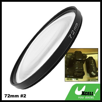 Close-up Attachment 72mm Lens f500mm Filter +2 for Nikon Canon Camera