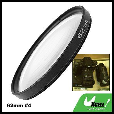 62mm +4 Close-up Attachment Lens f1000mm Filter for Nikon Canon Camera