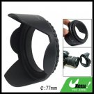 Flower 77mm Lens Hood for Canon Nikon Olympus Camera