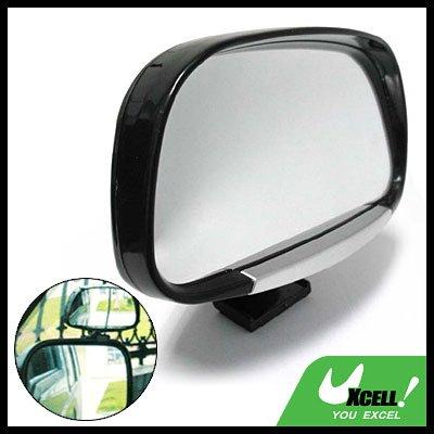 Revolving Convex Car Blind Spot Mirror Black (3R-081)