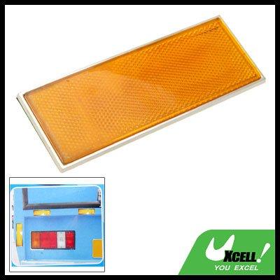 Rectangle Car Auto Yellow Sticker Guard Reflector (HL-6075)