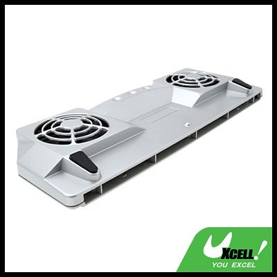 USB 2.0 Cooler Cooling 2 Fan Pad for Notebook PC