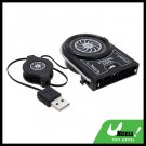 Air Extraction Cooling Fan with USB Retractable Cable for Notebook PC