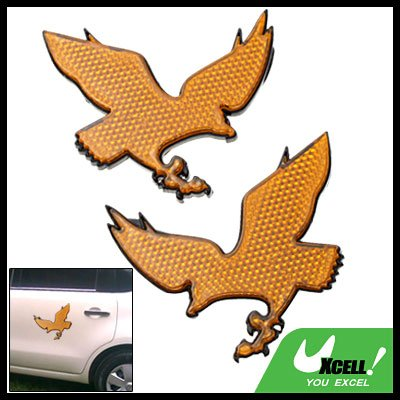 Vehicle Car Motorcycle Bicycle Eagle Sign Reflector