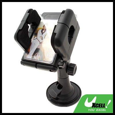 Windshield Car Mount Holder for PDA/Phone/iPod/GPS/ PSP - Black
