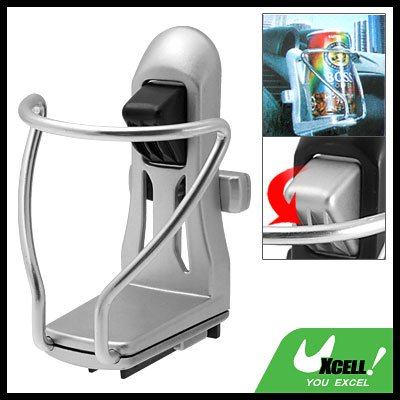 Car Auto Mount Silvery Drink Can Cup Bottle Holder Stand