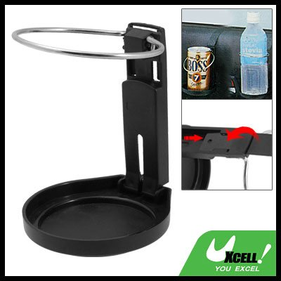 olding Black Car Auto Drink Can Cup Bottle Holder Stand