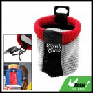 Portable Car Storage Pocket Organizer Sundries Bag Red and Gray