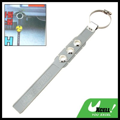 Car Auto Anti Static Electricity Gray Strap Earth Belt Ground Wire (YI-153)