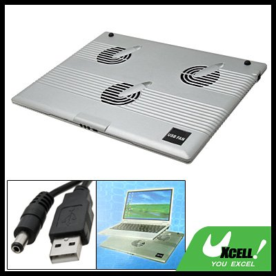USB 3 Fans Notebook Laptop Cooling Cooler Pad Mat Protector