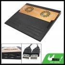 Sleek 2 Fans USB 2.0 Notebook Laptop Cooler Cooling Pad