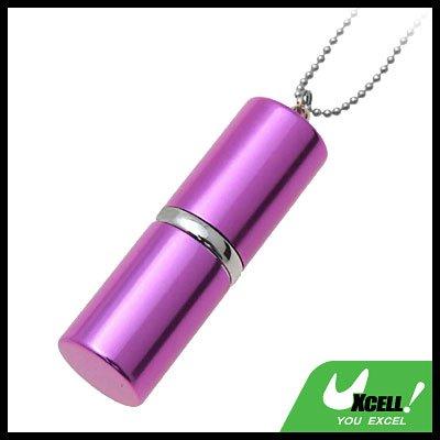 Purple Lipstick Keychain USB 4GB Flash Memory Stick