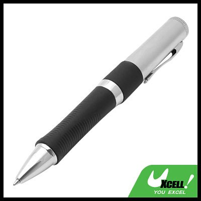 2 in 1 1GB USB Flash Memory Stick Drive Ball Pen Black and Silver