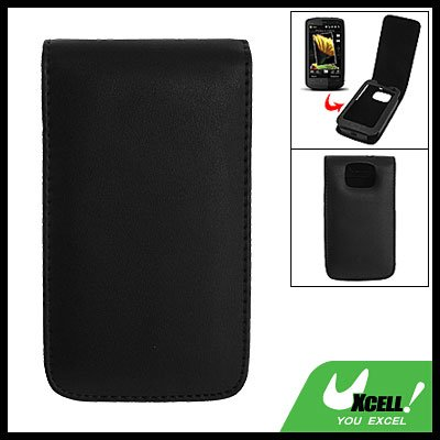 Leather Pouch Case with Magnetic Cover for HTC Touch HD