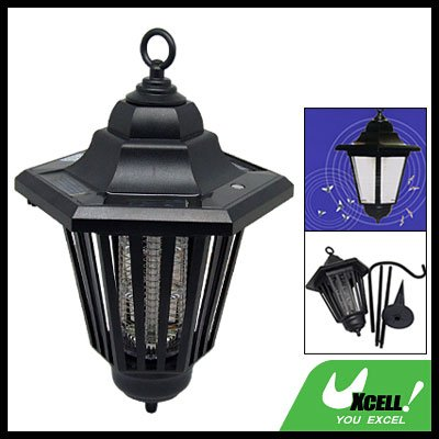 Solar Mosquito Pest Insect Bug Killer Zapper Light Lamp