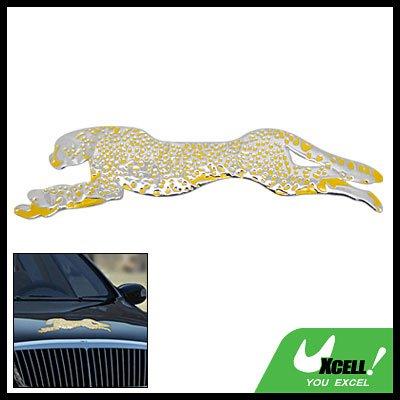 Unique Leopard Car Decoration Logo Badge Sticker