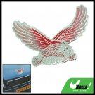 Silver and Red Eagle Car Decoration Logo Badge (HL-8031)