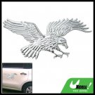 3D Eagle Auto Car Badge Emblem Sticker w/Chrome Look