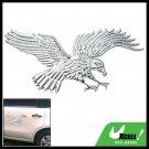 3D Eagle Auto Car Badge Emblem Sticker w/Chrome Look