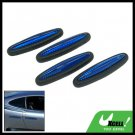 Car Auto Door Guard Protectors 4 Pieces Navy Blue (LK-217)