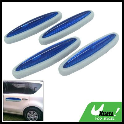 Blue and Gray Car Door Guard 4 Pieces (LK-217)