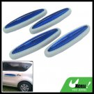 Blue and Gray Car Door Guard 4 Pieces (LK-217)