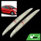 Pair Soft Plastic Made Car Body Door Bumper Guard Protector