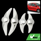 White Decorative Car Auto Door Guard Protector Sticker