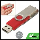 4GB USB 2.0 Flash Memory Stick Drive Pen with Swivel Lid