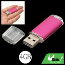 4GB USB 2.0 Flash Memory Pen Stick Drive Purple Pink