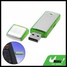 Green Pocket Aluminium USB Flash Memory Stick Drive Storage 4GB