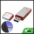 Pocket Aluminium USB Flash 2GB Memory Stick Drive Storage Red