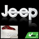 Graphic Jeep Decal Car & Truck Plastic Sticker Silvery