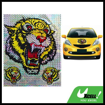 Tigers Racing Logo Car Truck Decorative Decal Sticker