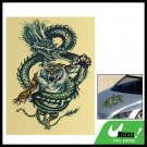 Tiger Dragon Car Auto Truck Boat Graphic Sticker Decal
