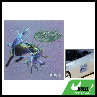 Square Capricorn Sticker Decal for Car Truck Window