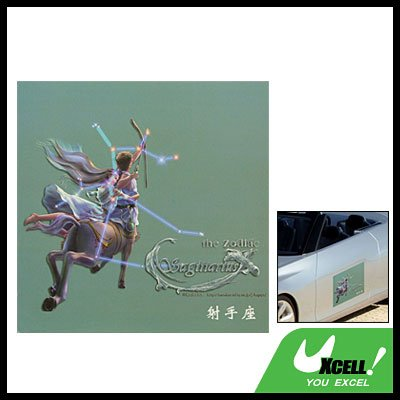Sagittarius Zodiac Car Vehicle Window Sticker Decal