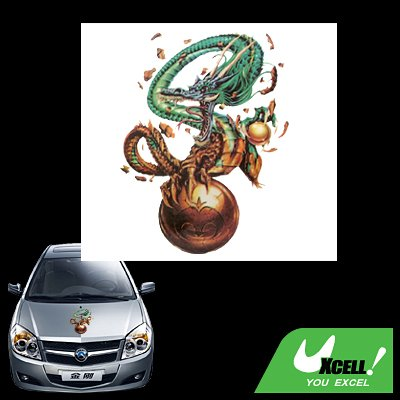 Dragon Ball Decal Graphic Sticker for Car Window Wall