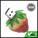Mini Strawberry USB 8GB Flash Driver Memory Stick Flash Card