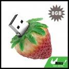 Mini Strawberry USB 8GB Flash Driver Memory Stick Flash Card