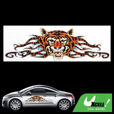 Graphic Tiger Decal Car Vehicle Window Vinyl Sticker
