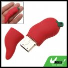 Red Hot Chili 4GB USB 2.0 Flash Drive Storage Memory Stick