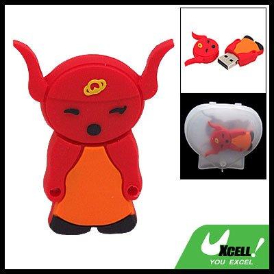 Red Goblin 2GB USB 2.0 Flash Drive Memory Stick Storage