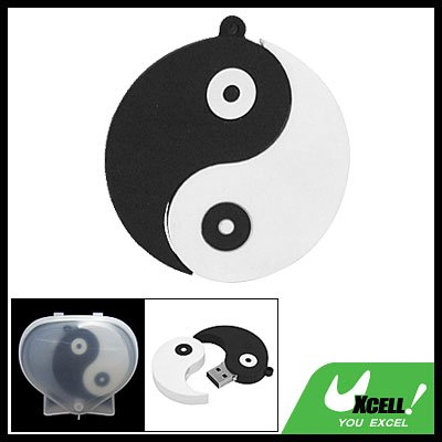 Ying Yang   2GB USB 2.0 Flash Drive Memory Stick