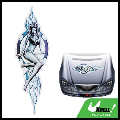 Sexy Lady Vinyl Decal Sticker for Car Auto Boat Vehicle
