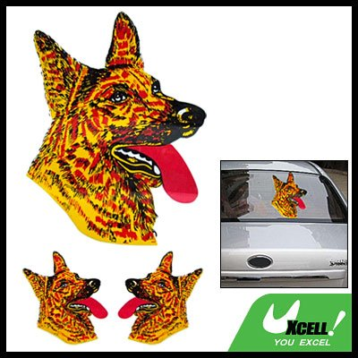 Wolf Vinyl Decal Graphic Sticker for Car Vehicle Window