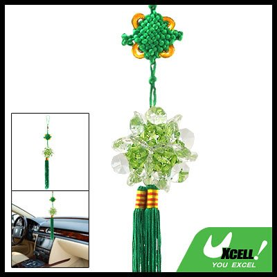 Embroidery Chinese Crystal Knot Decoration Wall Hanging Ornament