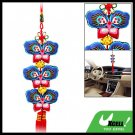 Chinese Knot Embroidery Oriental Ornament Butterfly Pendant