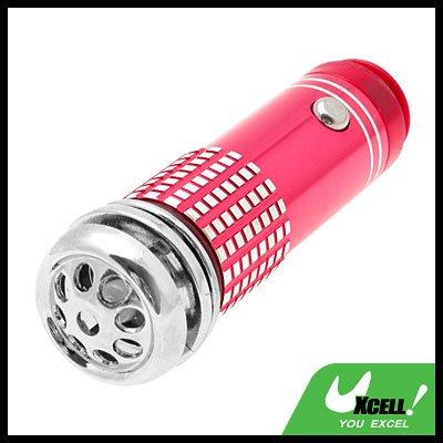 Mini Fresh Air Purifier / Oxygen Bar for Auto Car - Red